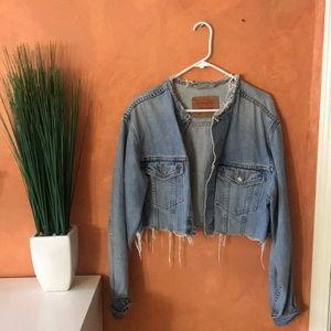 LEVIS | cropped denim jacket